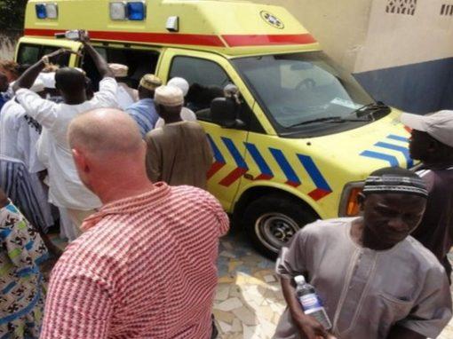 Ambulance voor de Wellingara Community